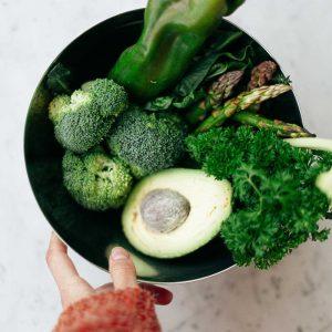 photo d'un bol de légumes