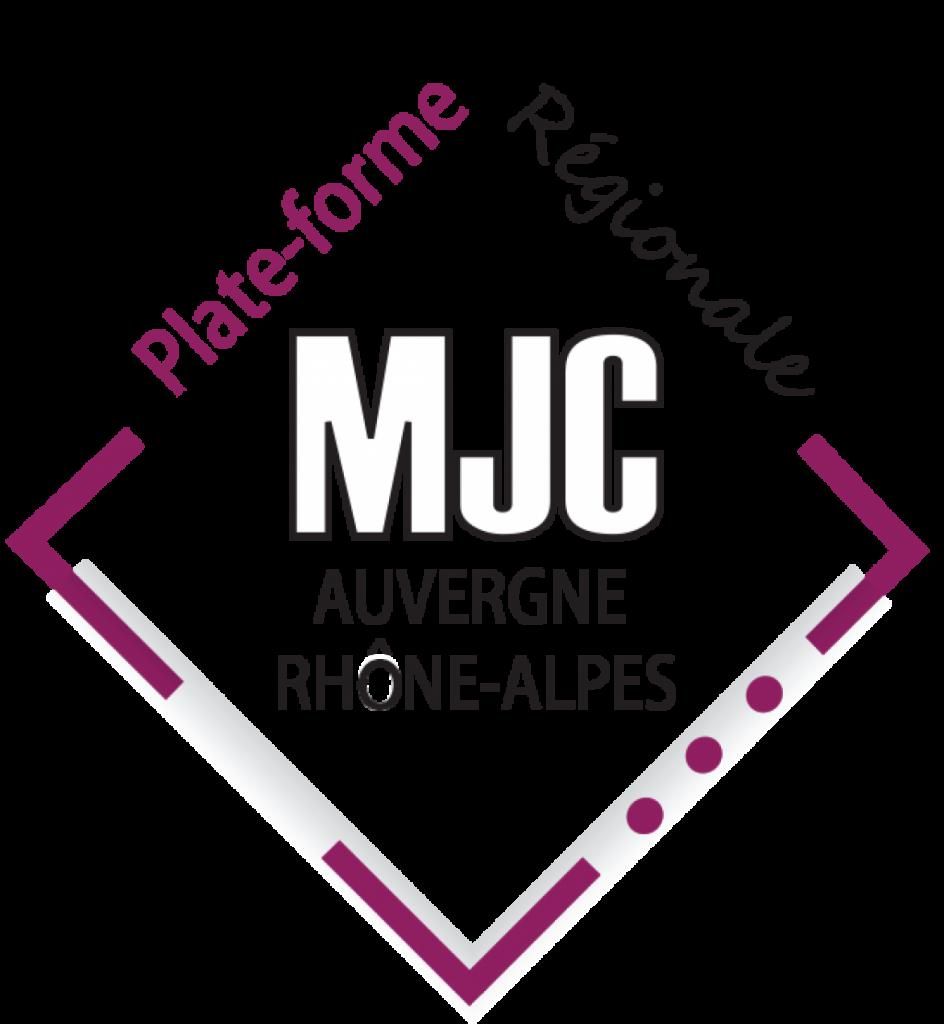 Logo plateforme régionale MJC Auvergne Rhône-Alpes